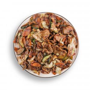 Teletina sa kikirikijem i povrćem