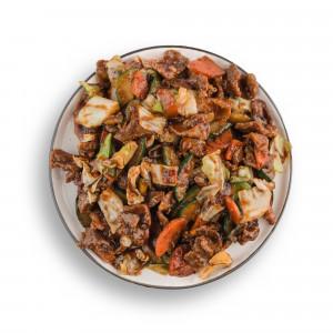 Teletina sa povrćem u Sečuan sosu